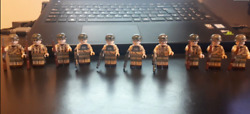 Ww2 Military Airborne Division 101st Us Army Soldier Weapons 10pcs Lego Moc 2020