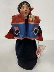 Byers Choice Salvation Army 2005 Shopping Woman Holding Bags W Packages