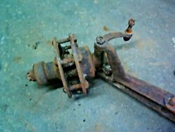 Model T Ford Front Spindle 1913-25 Steering Arm Hub And Axle Stub Stuck