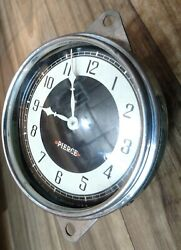 1933 1934 Pierce Arrow Clock. Excellent Condition Fully Reconditioned Rare