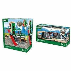 Brio World - 33204 Parking Garage | Railway Accessory With Toy Cars For Kids ...
