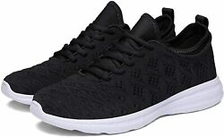 Joomra Womenand039s Shoes 85 Fabric Low Top Lace Up Running 1_black Size 7.0 Mrip