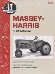 Massey Harris Model 21 23 33 44 Special 55 555 Colt Tractor Service Manual Mh5a