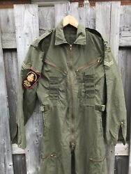 1987 Og107 Canadian Cvc Coveralls Combat Vehicle Crewman Small Regular And Patches