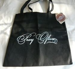 Black Pray Often Book Bag Tote for Bible Study $12.00