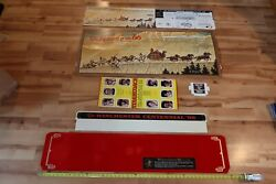 Winchester Stagecoach Norman Rockwell Rifle Display 1966 100th Year Anniversary