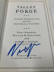 Valley Forge George Washington And The Crucible Of Victory 2010 Signed 1st Ed