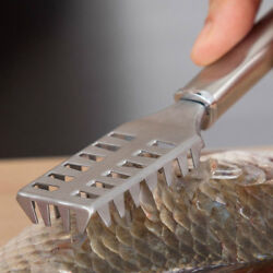 Unique Stainless Steel Fish Scaler Cleaner Remover Tools Home Kitchen Peelerwa
