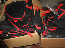 Ski Snowboard Boots Backpack Big Black/red New With Little Store Wear Lot 10