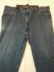 Leviand039s 560 Comfort Fit Tapered Leg Jeans Mens Size 50x30 Blue Meas. 50x30