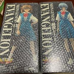 Real Action Heroes Evangelion Ayanami Rei Soryu Asuka Langley 2set From Japan