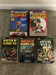 Master Of Kung Fu Omnibus 3 And 4 + Epic Collection 1 And 2 Unread