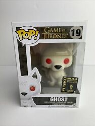 Funko Pop Tv Game Of Thrones 19 Ghost Flocked 2014 Sdcc Convention Exclusive