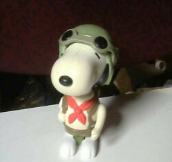 Charles M Schulz Rare McDonald#x27;s Happy Meal Snoopy Scout Peanuts Figurine 2000