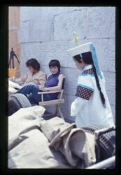 Liza Minnelli On Movie Set Sitting In Director Chair Original 35mm Transparency
