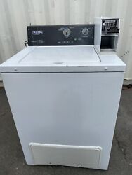 Maytag Top Load Washer Machine M/nmvw18csaww 120v/15a Coin Op [used]