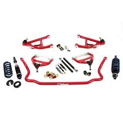 Umi 406402-r 68-70 A-body Corner Max Kit, Factory Spindle, Red