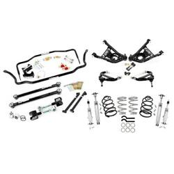 Umi Abf409-1-b 65-66 A-body Kit Stage 5 1 Inch Lowering Black