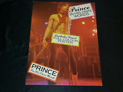 In His Own Words Picture Book Magazine Posters Vintage Purple Rain 80s