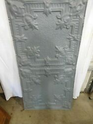 15 Antique Tin Ceiling Panels Embossed Design 24 Wide X 48 And039and039 Long 2111