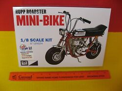2016 Mpc Retro Deluxe 1/8 Red Rupp Roadster Mini-bike Motorcycle Chrome Gas Tank