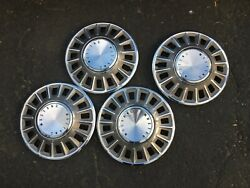 Used 1967 1968 Ford Mustang Oem Hubcaps Wheel Covers Set Of 4 14 Inch C8za1130a