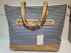 Nautical Tote Bag New With Tags beach Bags overnight Bags $24.99
