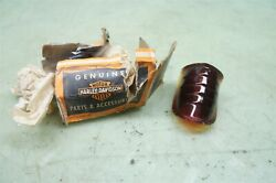 Harley Davidson Nos Beehive Taillight Lens Nib 5059-39 39 To 46 In Box 2430