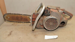 Rare Mall 0mg Model Chainsaw Monster Logging Saw 4600h Collectible Vintage S3