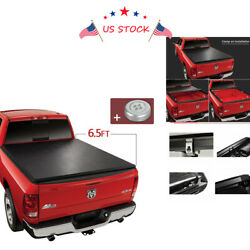 6.5ft Short Bed Lock Roll Up Soft Tonneau Cover For 10-18 Ram 1500 2500 3500 Usa