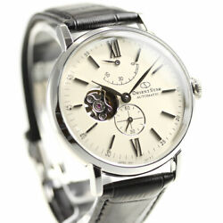 Orient Rk-av0002s Watch Orientstar Classic Mechanical Automatic Menand039s In Box