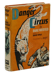 Danger Circus By Raoul Whitfield First Edition 1933 Juvenile Black Mask