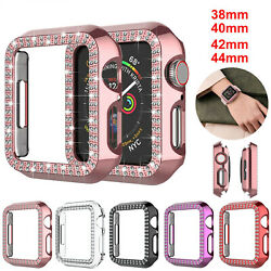 Apple Watch Series 6/5/4/se/3/2 Bling Screen Protector Case 44/40/42/38mm Cover