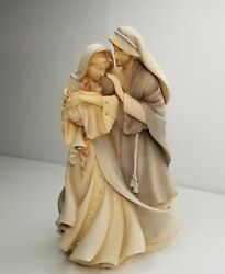 Foundations By Enesco Holy Family Resin A Child Is Born Figurine 2013