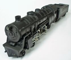 Clean 1960 American Flyer 21160 Reading Lines 4-4-2 Steam Locomotive And Tender