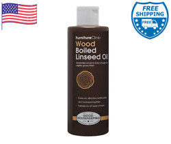 Furniture Clinic Boiled Linseed Oil For Wood Furniture And More 8.5 Oz Refined Oil