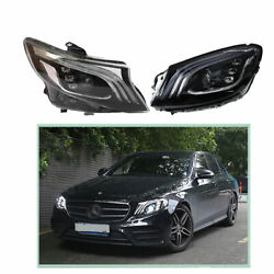 Headlight Assembly For Benz Metris 2016-2020 Hid Xenon Beam Projector Led Drl