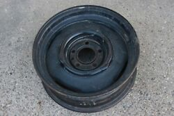 Original 1960and039s-70and039s Dodge Plymouth Kelsey Hayes Steel Wheel 15x5.5 Jj Mopar 4
