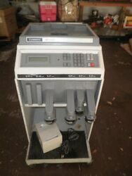 Cummins Jetsort 2000 Coin Counting Counter Sorting Sorter Machine With Stand