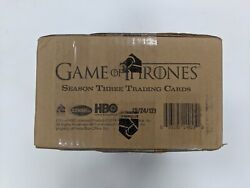 2014 Rittenhouse Game Of Thrones Season 3 Trading Cards Factory Sealed Case