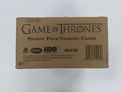 2015 Rittenhouse Game Of Thrones Season 4 Trading Cards Factory Sealed Case