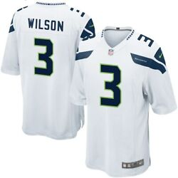 Seattle Seahawks Russell Wilson 3 Nike Men's Official Nfl Player Game Jersey