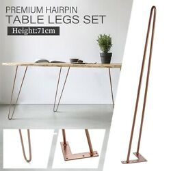 Table Legs Desk Metal Furniture Stand Feet Home Accessories Floor Protection Mat