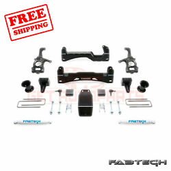 Fabtech 6 Basic Syst W/ Front Coilover And Rear Shocks For Ford F150 4wd 15-17