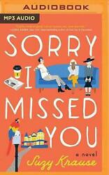 Sorry I Missed You A Novel By Suzy Krause English Compact Disc Book Free Ship