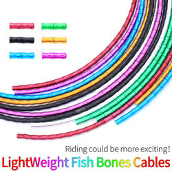Bicycle Brake Shift Cable Housing Lightweight Fish Bones Links Cable Housing`vv