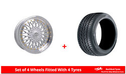 Alloy Wheels And Tyres 17 Dare Dr-rs For Ford Scorpio [mk1] 85-94