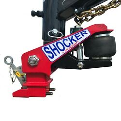 Maxxd Trailers Shocker Surge Gooseneck Air Hitch And Coupler Round 3-15/16