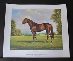 Richard Stone Reeves - War Admiral - Collectible Race Horse Print - Mint