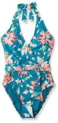 Womenand039s Front Wrap Belted Caribbean Current//flyaway Orchid Size 8.0 Uui9